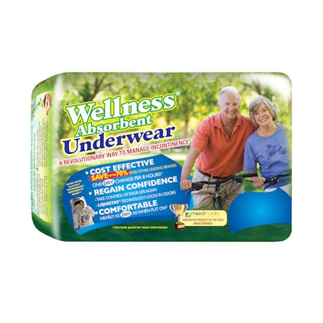 Unique Wellness Disposable Pull On Underwear