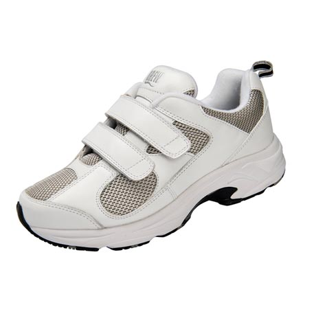 Drew® Flash II Velcro® and Mesh Cushioned Walking Shoe