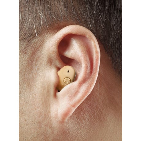 2 Pack In-Ear Hearing Amplifier High Definition