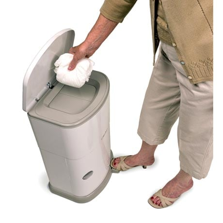 Akord 11 Gallon Odor-Reducing Adult Incontinence Disposal System