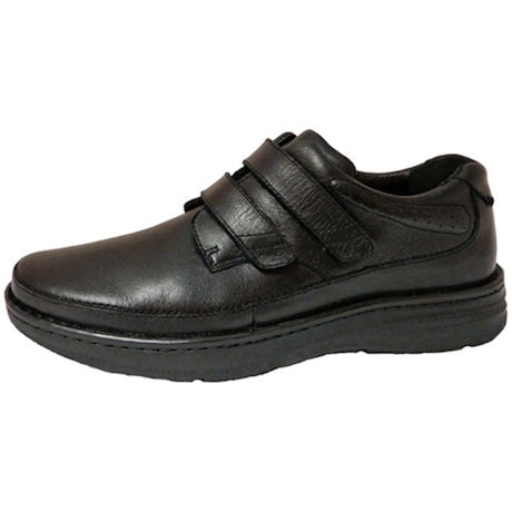 Drew® Mansfield Shoes for Men - Black Leather