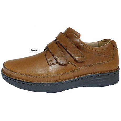 Drew® Mansfield Shoes for Men - Brown Leather