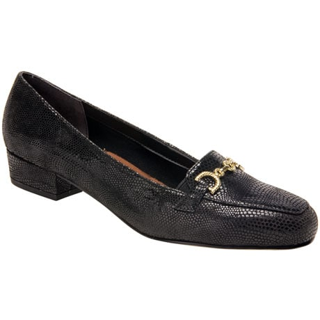 Ros Hommerson® Taylor Loafer - Black Lizard