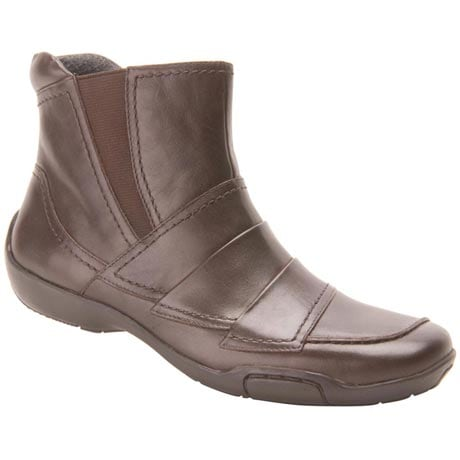 Ros Hommerson® Claire Ankle Boot - Dark Brown