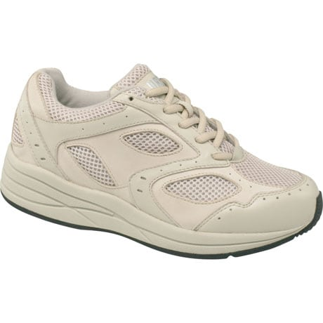 Drew® Flare Women's Walking Shoes - Bone Leather/Mesh