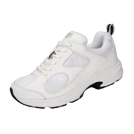 Drew® Flash II Women's Walking Shoes - White Leather/White Mesh