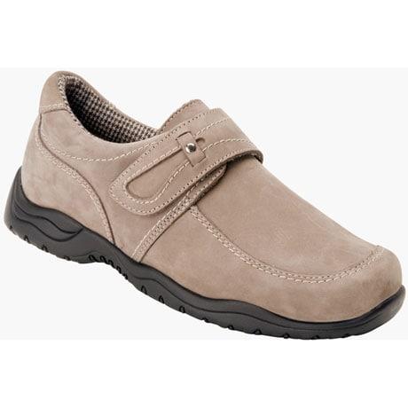 Drew®  Antwerp Women's Slip-On Shoes-Stone Nubuck