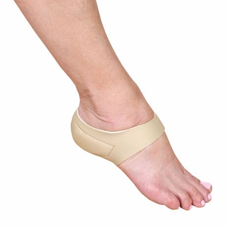 Therapeutic Heel Stabilizer with Gel Ice Pads