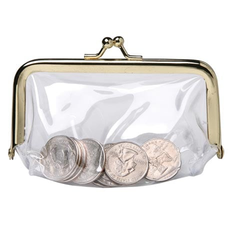 See Through Coin Purse