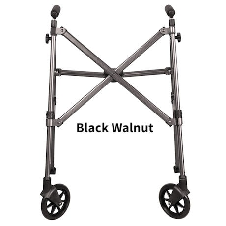 "Fold N Go Compact Walker with Adjustable Height 32"" to 38"""