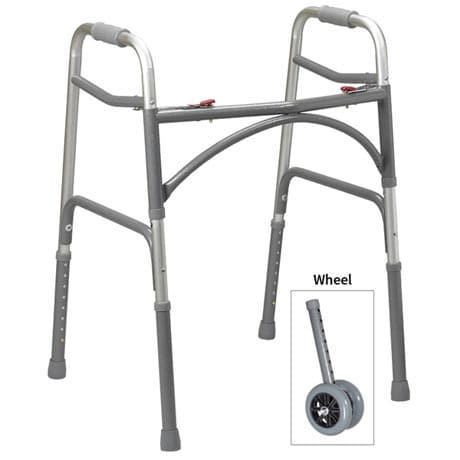 Bariatric Walker Wheel Kit