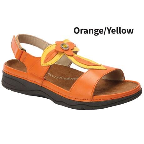 Drew® Alana Floral Sandals