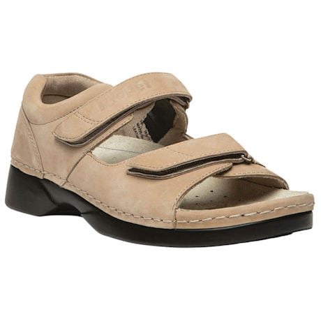 Propét® Pedic Walker Sandal with Removable Footbed & Adjustable Straps