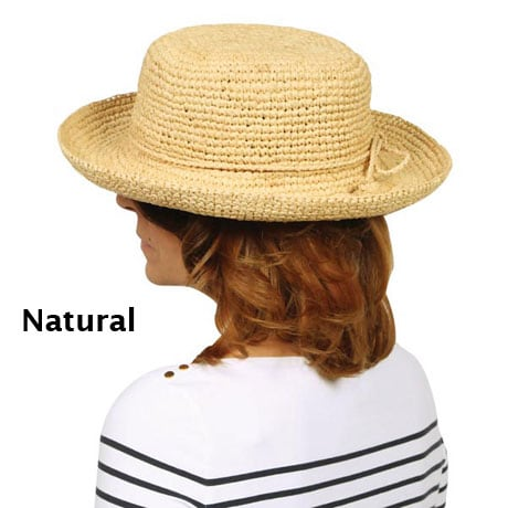 Crochet Raffia Women's Hat