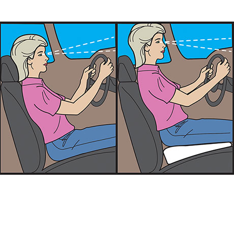 Car Boost Cushion (Fleece)