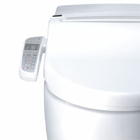 Wash Mate Deluxe™ Luxury Bidet Hygiene System - Round Toilet Seat
