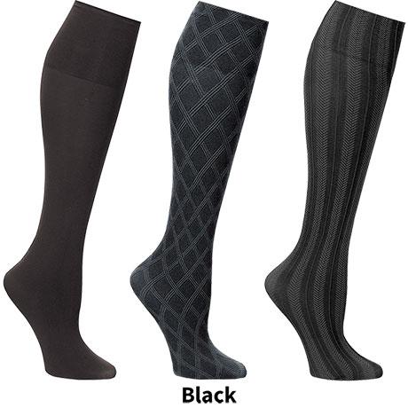 Support Plus® Women's Wide Trouser Socks - Set of 3