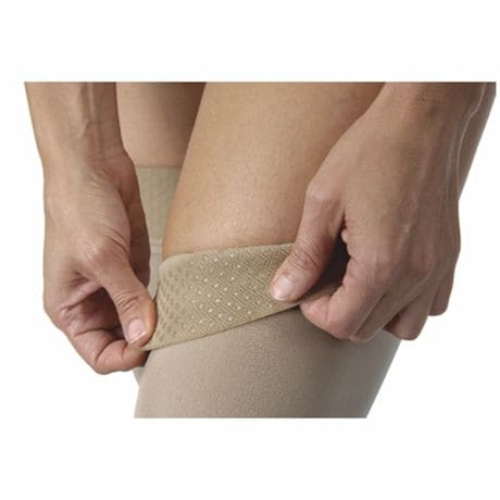 Jobst® Womens Opaque Closed Toe Very Firm Compression Thigh High Stockings