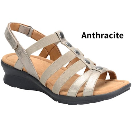 Soft Spots® Kalista Wedge Sandals