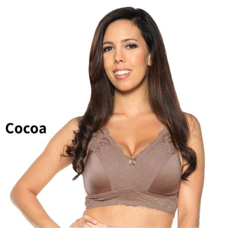 Rhonda Shear® Lace Leisure Bra