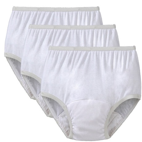 Reusable Incontinence Panties - set of 3, 10oz