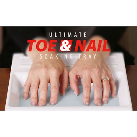 Ultimate Toe & Nail Soak Tray with 2 oz FungaSoap™