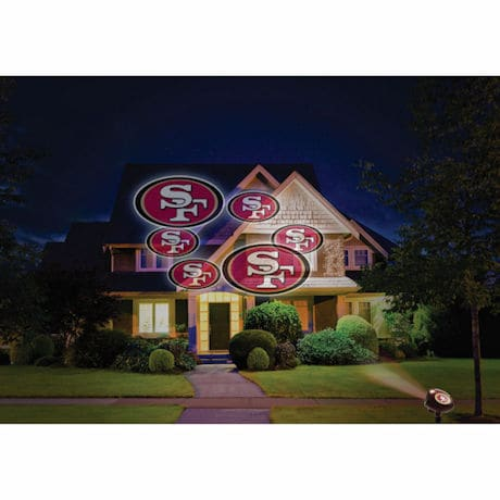NFL Team Logo Indoor/Outdoor Projection Light