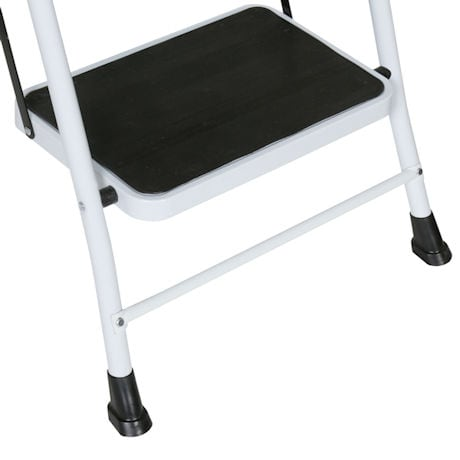 4 Step Safety Ladder with Padded Handrails