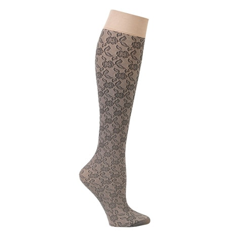 Women's Mild Compression Lace Trouser Socks
