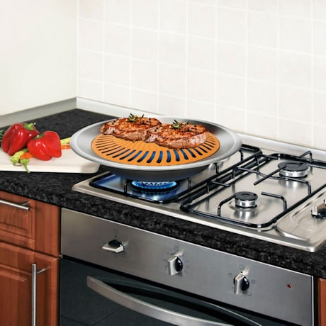 Gotham Steel Stove Top Grill At Support Plus Fg2932