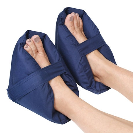 Plush Foot Pillow Heel Protectors