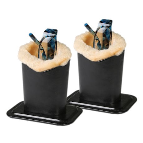 Set of 2 Protective Stand Up Eyeglasses Holders