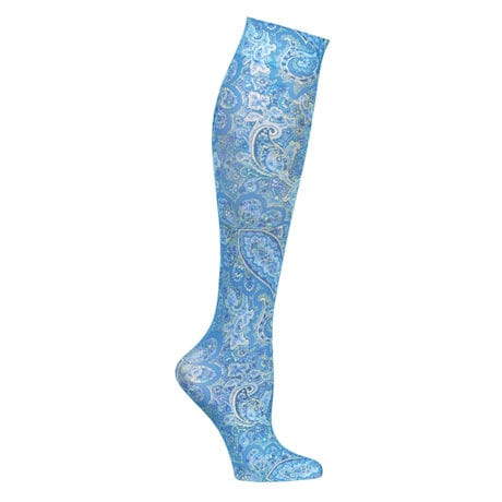 Mild Comp Wide Calf Paisley 3 pair bundle