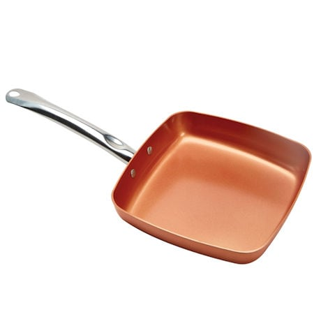 "Copper Chef 9 1/2"" Square Fry Pan"