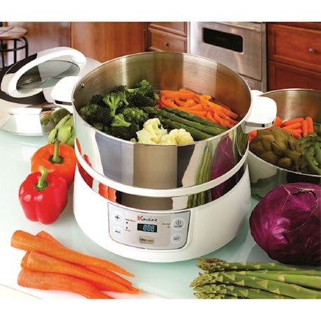 Stainless Steel Electric Steamer