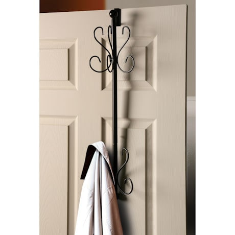 10 Hook Over the Door Hanging Coat Rack
