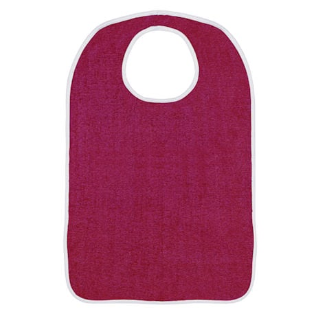 Terry Bib with Velcro Closure 3 pack