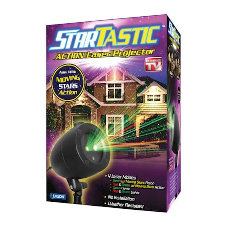 Startastic Action Laser Projector