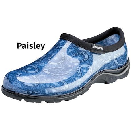 Womens Slogger Comfort Shoe Horseshoe Paisley