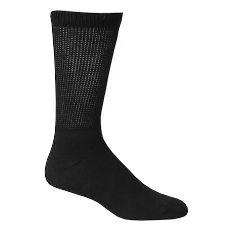 Buster Brown® Men's Non-Binding Diabetic Crew Socks-3 Pack