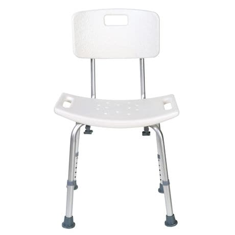 Support Plus® High Back Bath and Shower Seat with No Tool Assembly