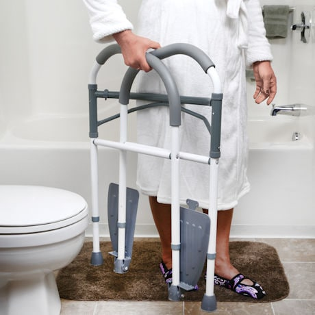 Support Plus® Folding Toilet Safety Frame