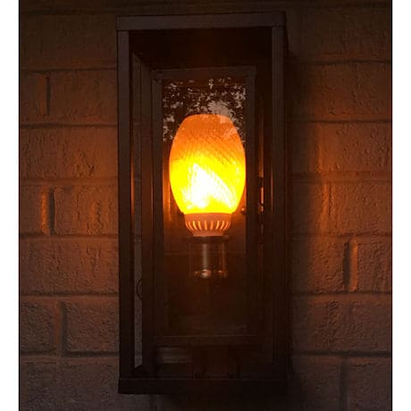 Set of 2 Flamewave LED Flickering Flame Bulb - Bottom Mount - Flame Runs from Bottom to Top
