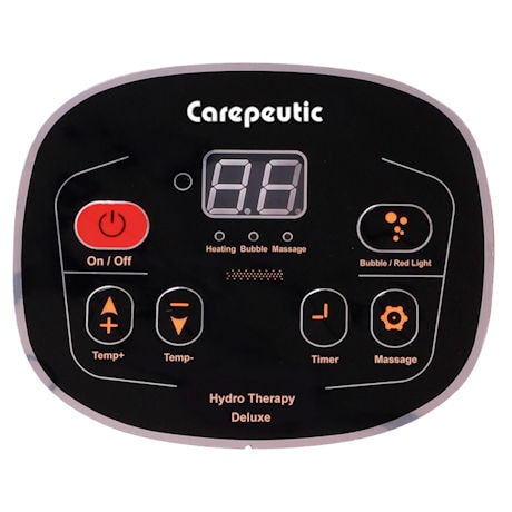 Carepeutic Motorized Hydrotherapy Foot and Leg Spa Massager