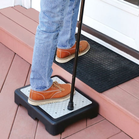 Support Plus Indoor/Outdoor 3.5' High Riser Step - Supports up to 400 lbs.