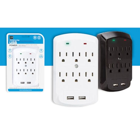 Masterplug Surge-Protected Outlet Expander