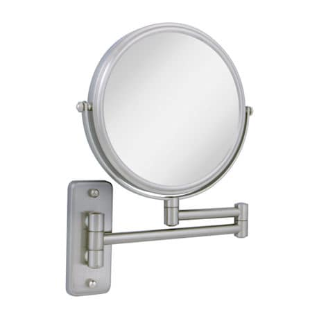 2 Sided Dual Arm Wall Mount Mirror