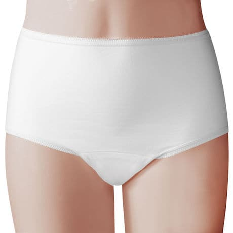 Womens Panty 20oz White 3 Pack