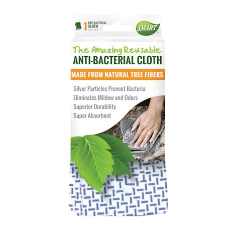 Reusable Anti-Bacterial Cleaning Cloths - Set of 3