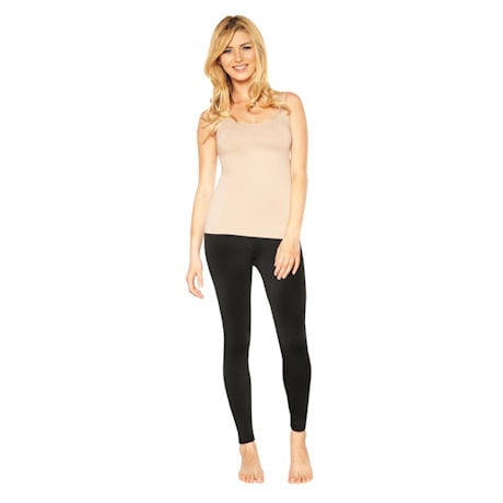 Rhonda Shear™ Seamless Tank with Shelf Bra